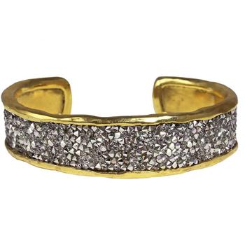 Kristal Cuff - Brass