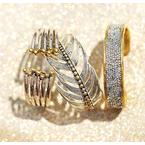 Waxing Poetic Kristal Cuff - Brass