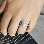 Sami Fine Jewelry Halo Diamond Ring