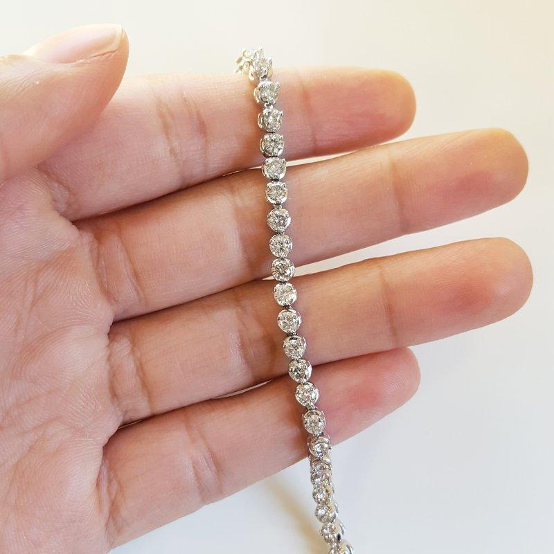 Sami Fine Jewelry Diamond Tennis Bracelet