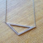 Sami Fine Jewelry Triangle Necklace