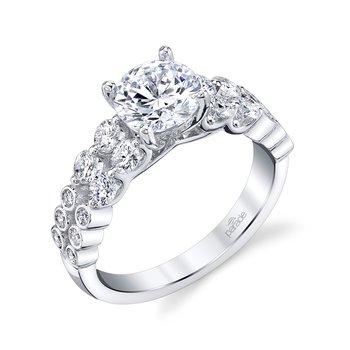 """""""Hemera"""" Layered Engagement Ring"""