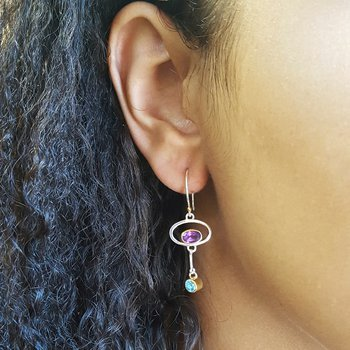 Artistic Dangle Earrings