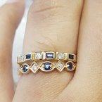 Sami Fine Jewelry Vintage Sapphire Band