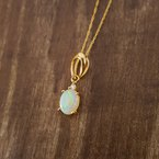 Sami Fine Jewelry Oval Opal Pendant