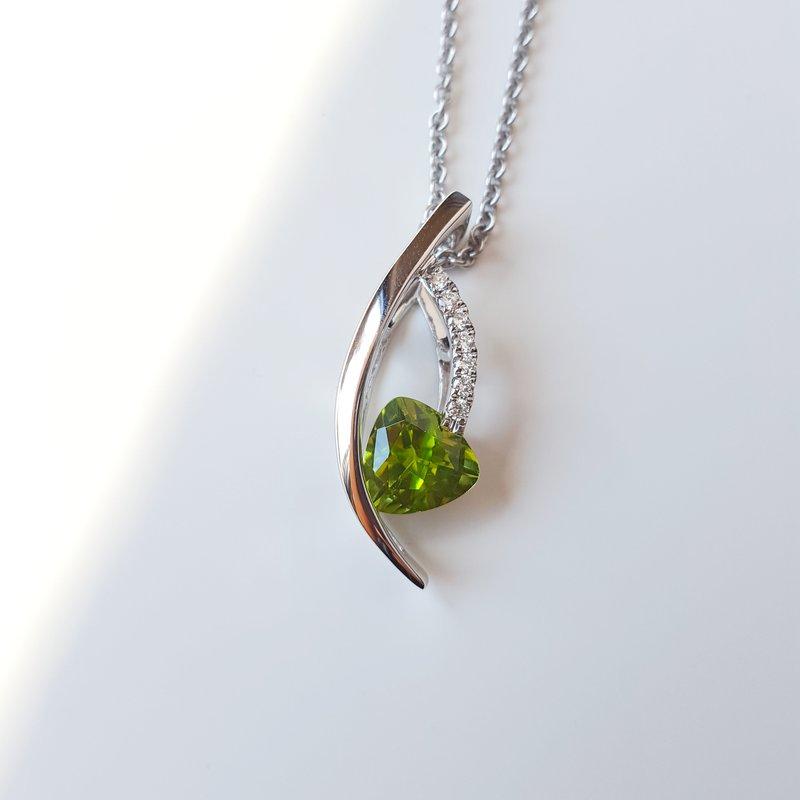 Arizona Peridot Gold Jewelry Peridot Cascade Pendant