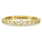 Sami Fine Jewelry Gold Stackable Ring