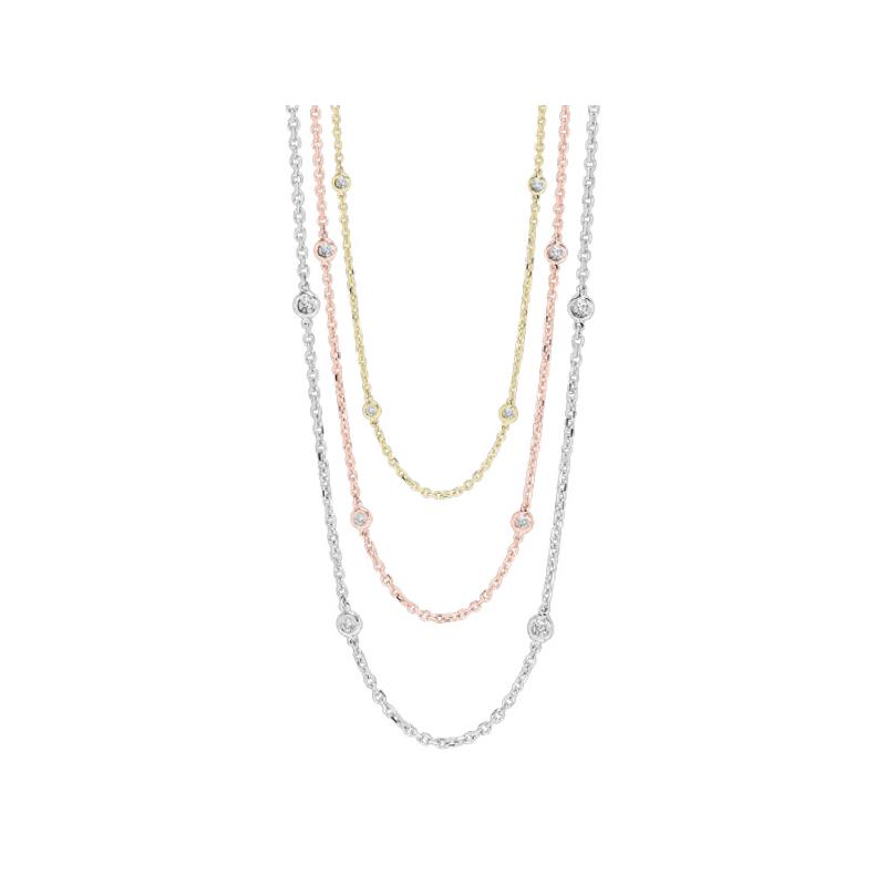 Sami Fine Jewelry Diamond By the Yard Necklace