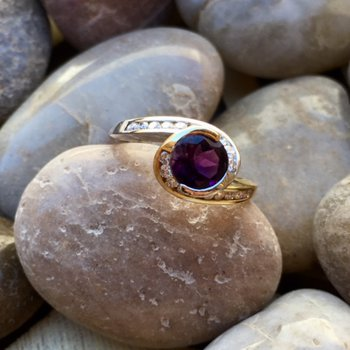 Bezel Wrap Ring