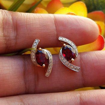 Oval Bypass Earrings