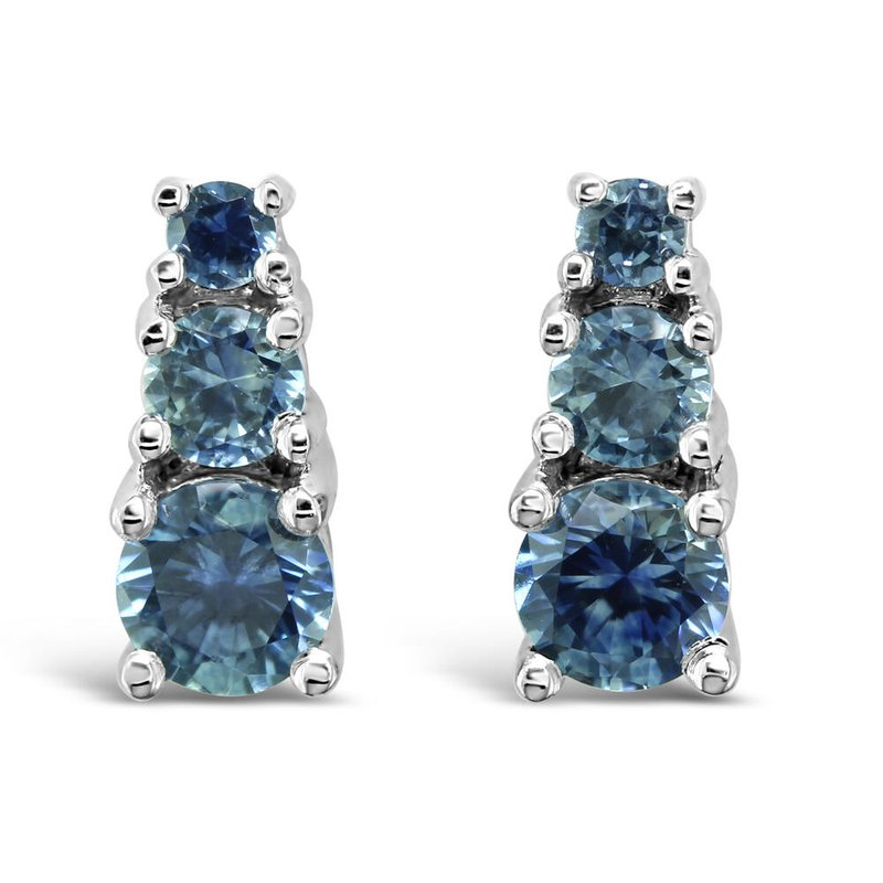 American Gem Collection™ Montana Sapphire Graduated Earrings