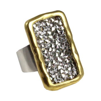 Kristal Plate Ring