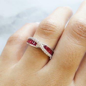 Ruby DNA Ring
