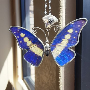 Life-sized Butterfly Pendant