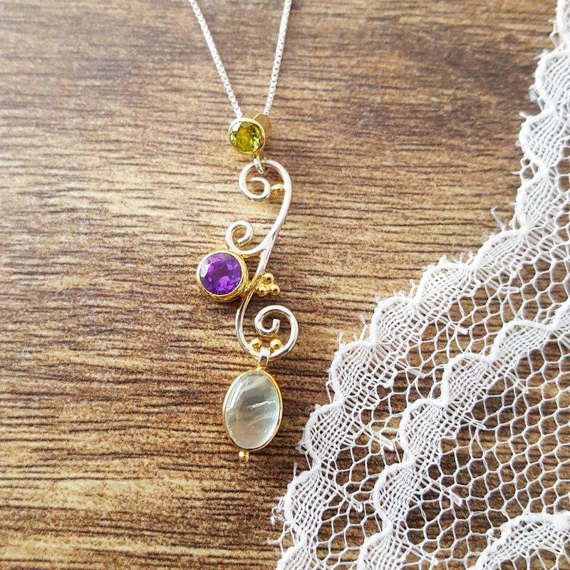 Michou Enchanted Garden Necklace