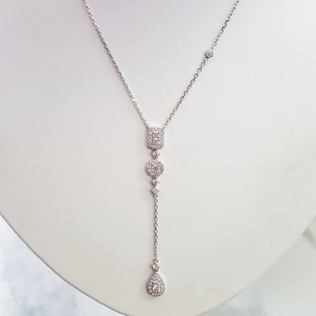 Vintage Inspired Drop Necklace