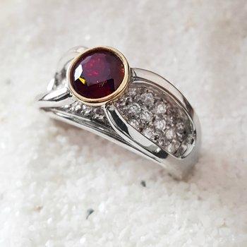 Round Bezel Ring