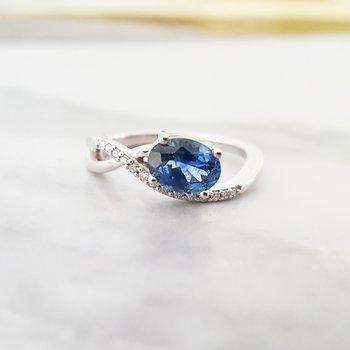 Montana Sapphire Ring