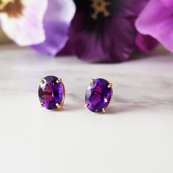 Essential 1 1/3 CT Oval Earrings