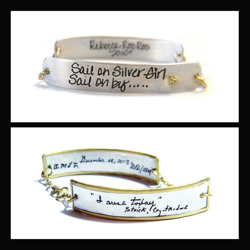 Cassandra Erin Double ID Bracelet