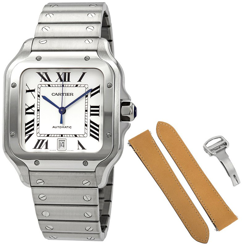 Pre-Owned Rolex & Luxury Watches (SOLD) CARTIER SANTOS