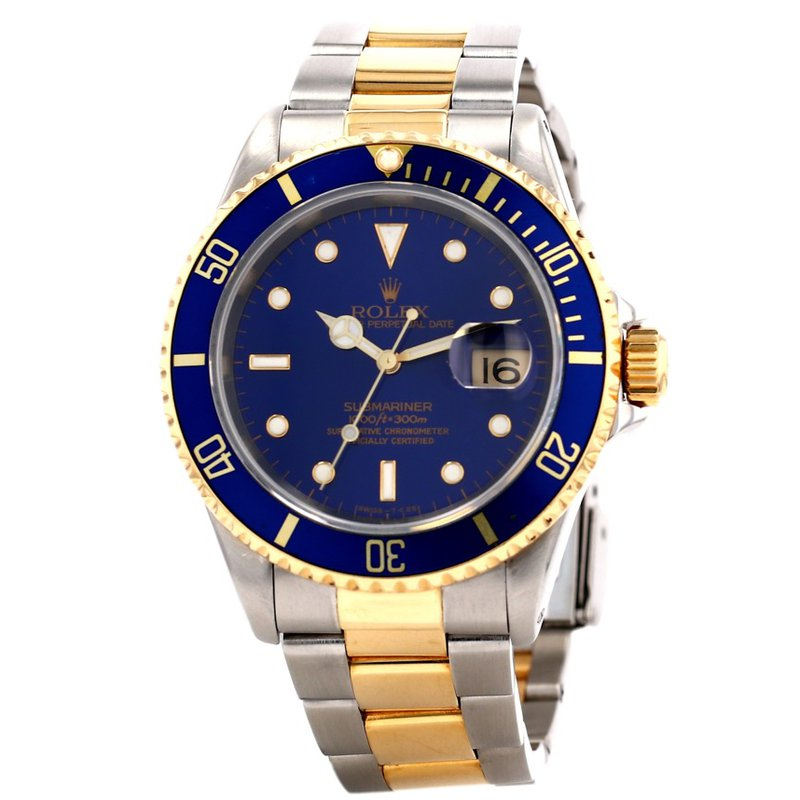 Pre-Owned Rolex & Luxury Watches Rolex Two Tone Submariner
