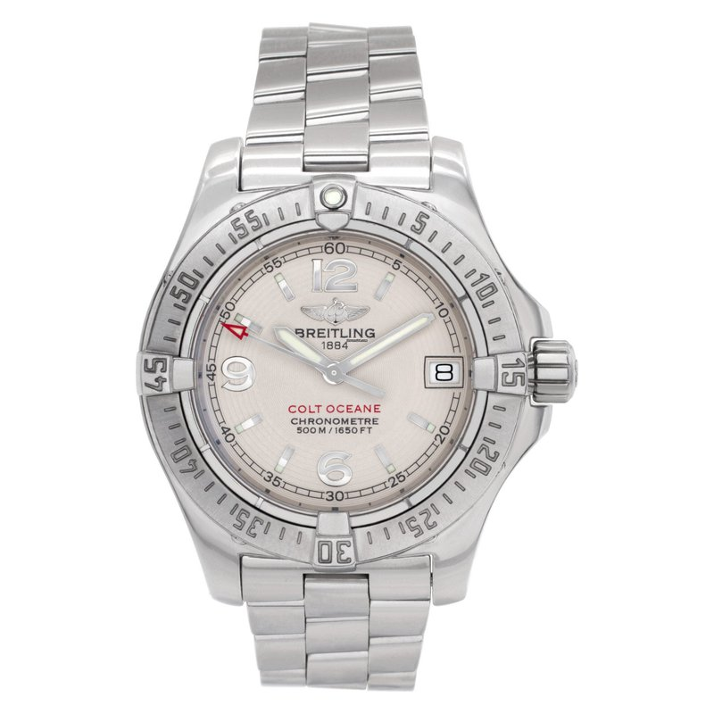 """Pre-Owned Rolex & Luxury Watches Breitling """"Colt Oceane"""""""