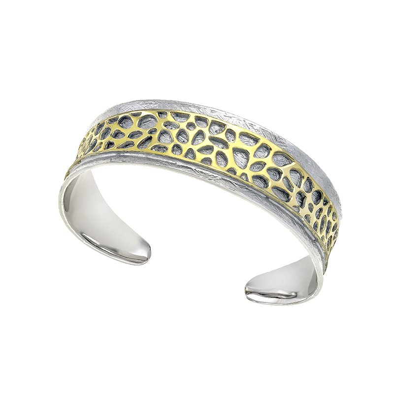 The Silver Collection Bangle