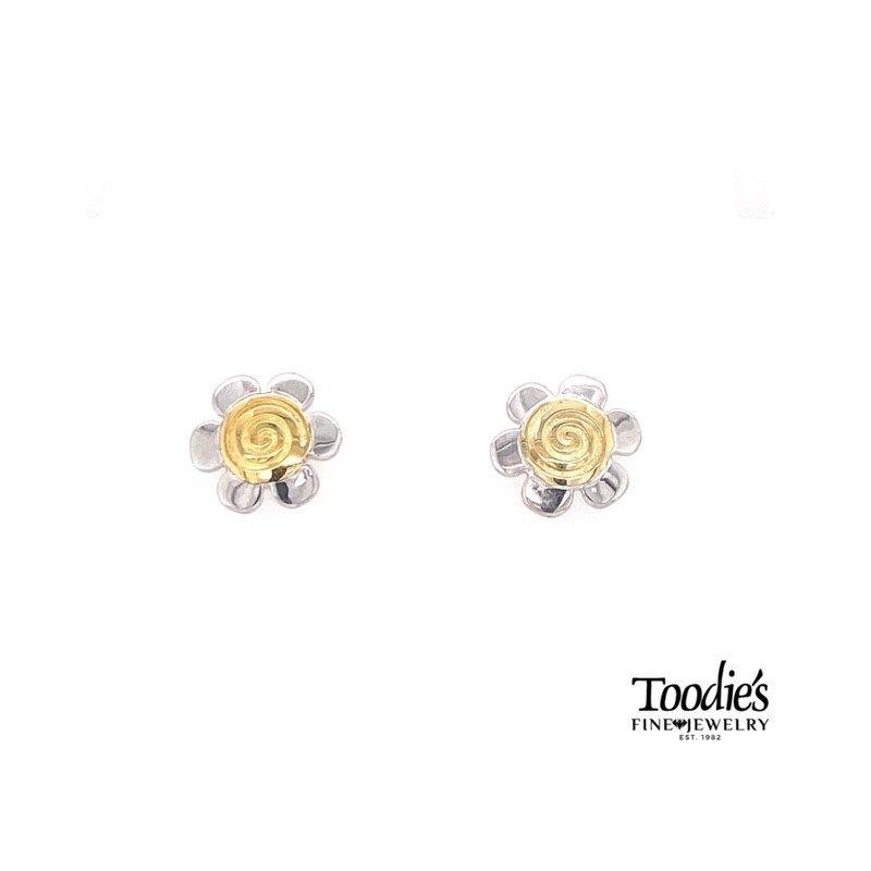 Charsinsky Designs Flower Studded Earrings