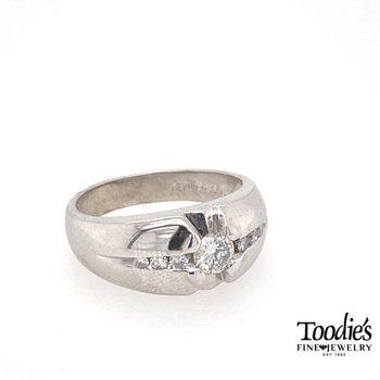 Vintage Executive Diamond Ring