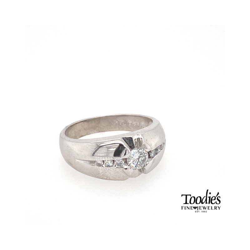 Toodie's Signature Fashion Vintage Executive Diamond Ring