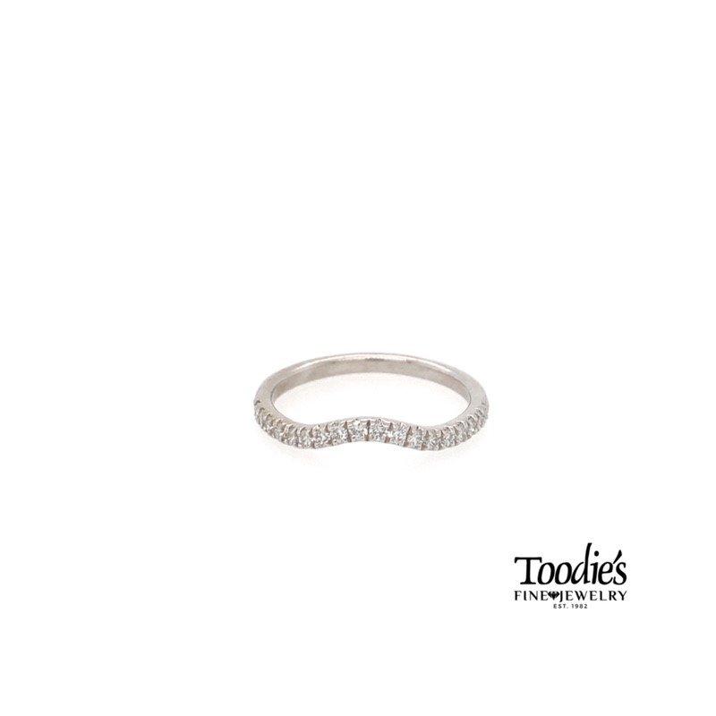 Toodie's Signature Fashion Curved Diamond Wedding Band