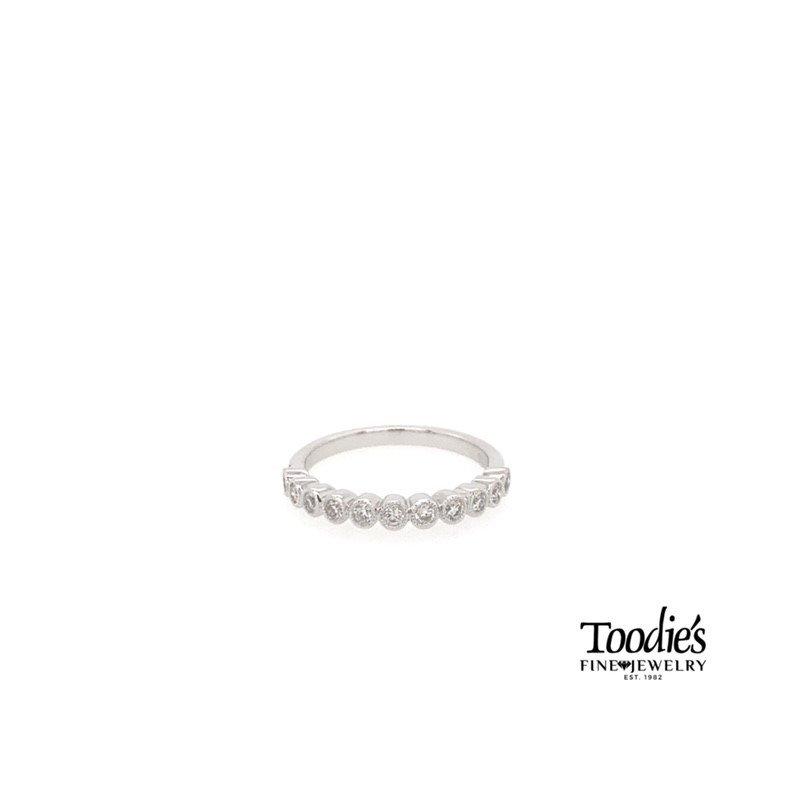 Toodie's Signature Fashion Diamond Bezel Set Band