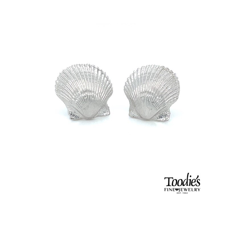 Toodie's Signature Fashion Scallop Shell Earrings