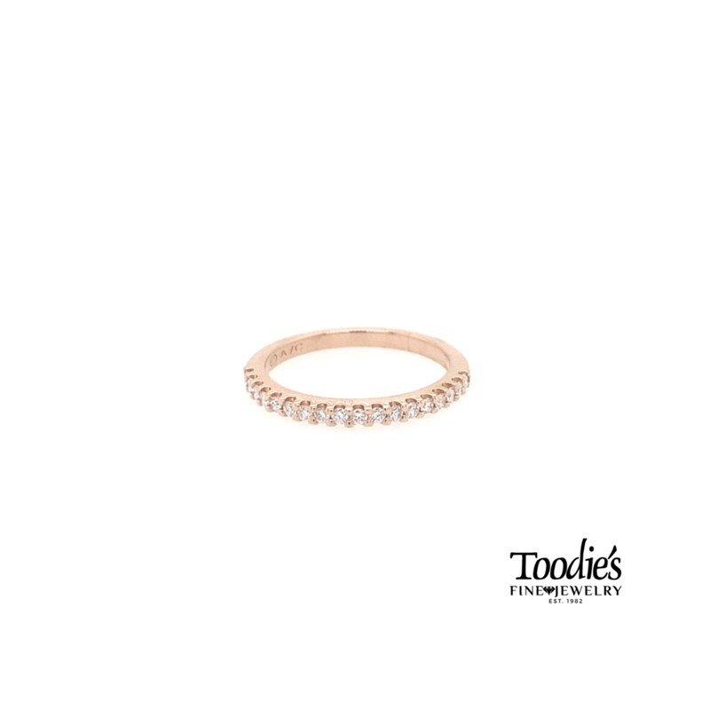 Toodie's Signature Fashion Rose Gold Diamond Band