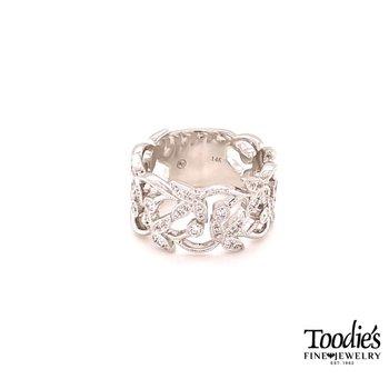 Diamond Floral Ring