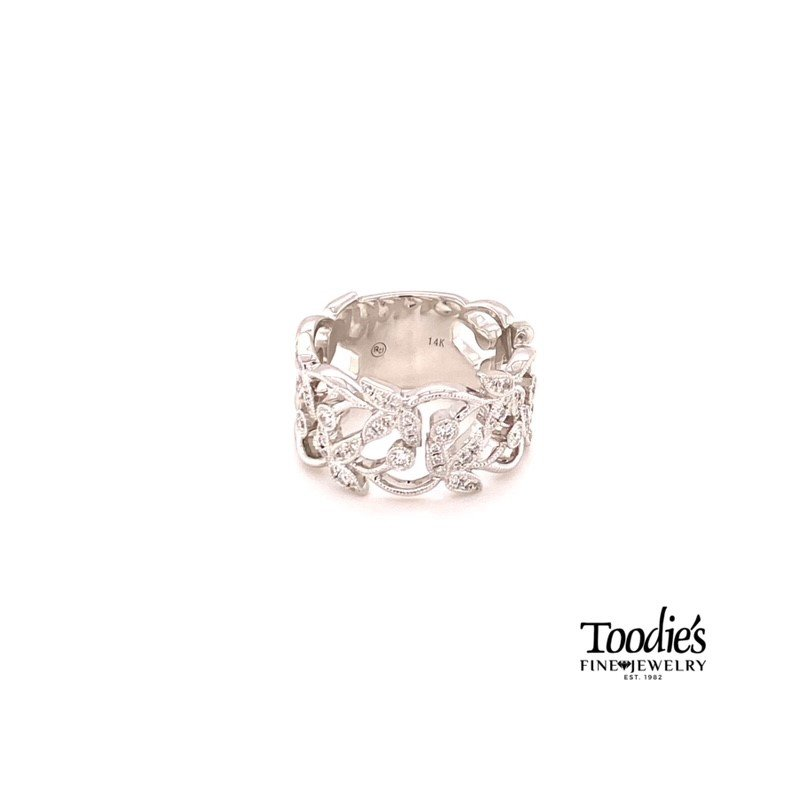 Toodie's Signature Fashion Diamond Floral Ring