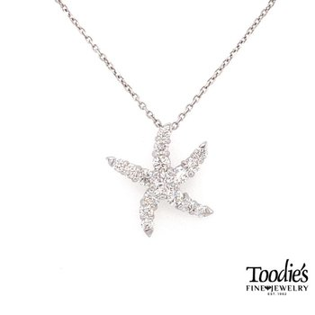 Our Signature Diamond Starfish Pendant