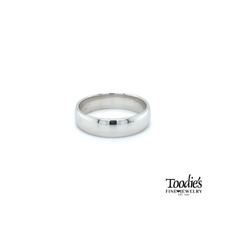 Toodie's Signature Fashion 5.5mm Flat Wedding Band