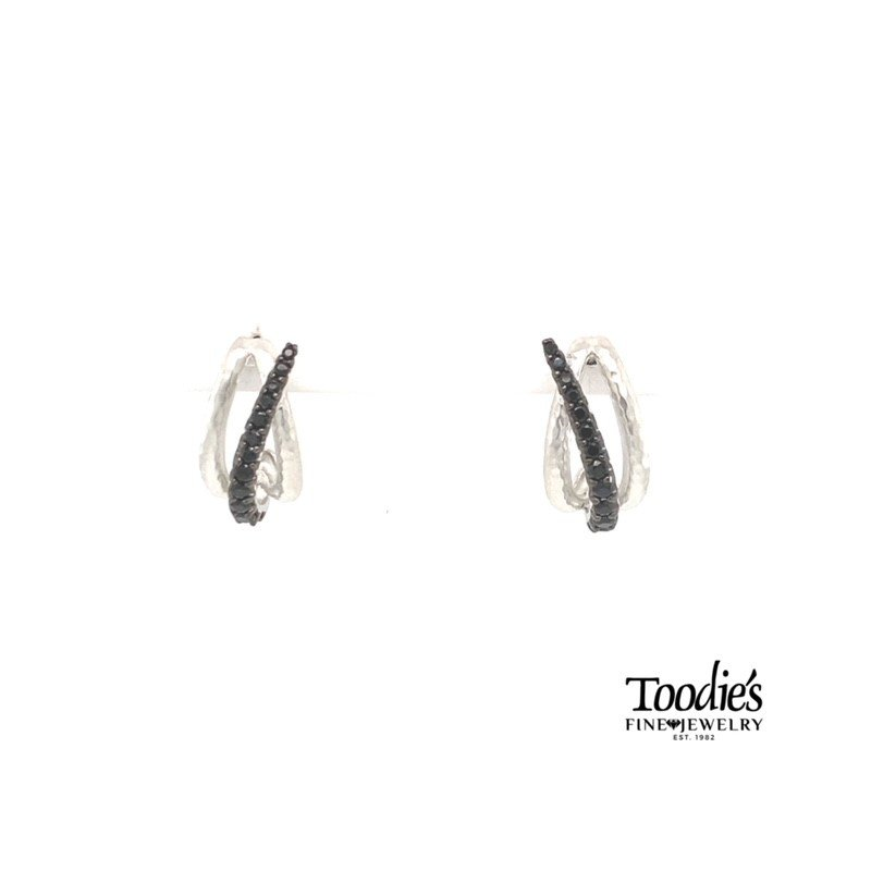 Gabriel Fashion Curved Drop Earrings