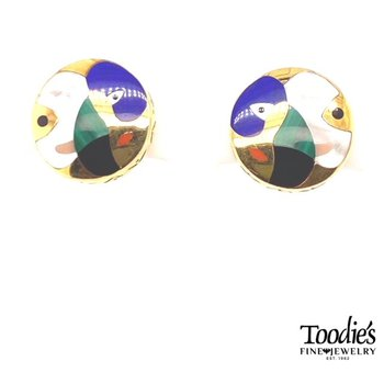 Picasso Studded Earrings