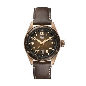 Autavia Automatic Watch with Bronze Dial