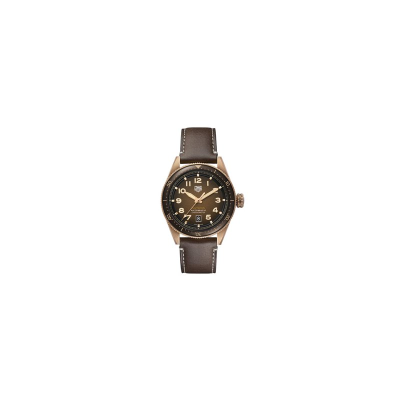 TAG Heuer Autavia Automatic Watch with Bronze Dial
