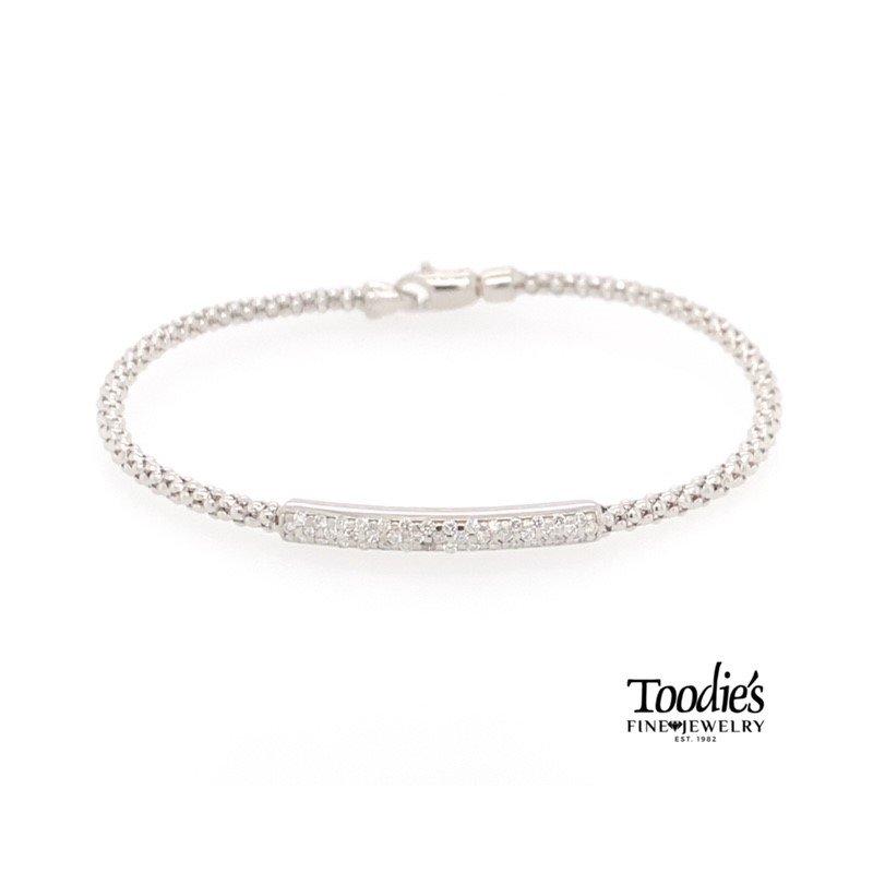 Phillip Gavriel Diamond Bar Bracelet