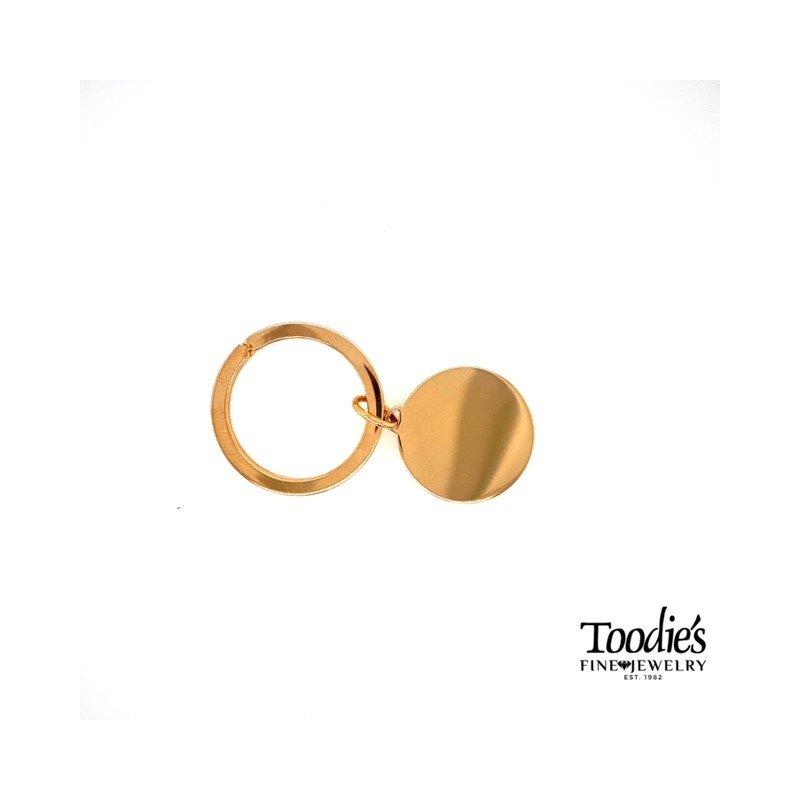 Toodie's Signature Fashion Gold Overlay Key Chain