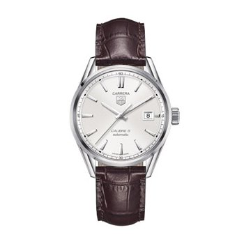 Carrera Automatic Watch with Silver Dial