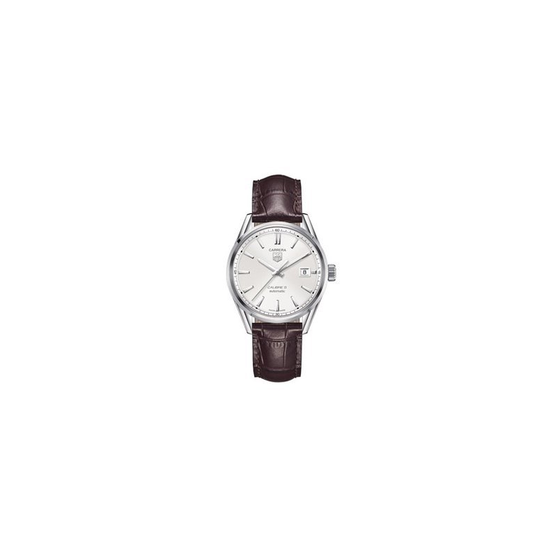 TAG Heuer Carrera Automatic Watch with Silver Dial