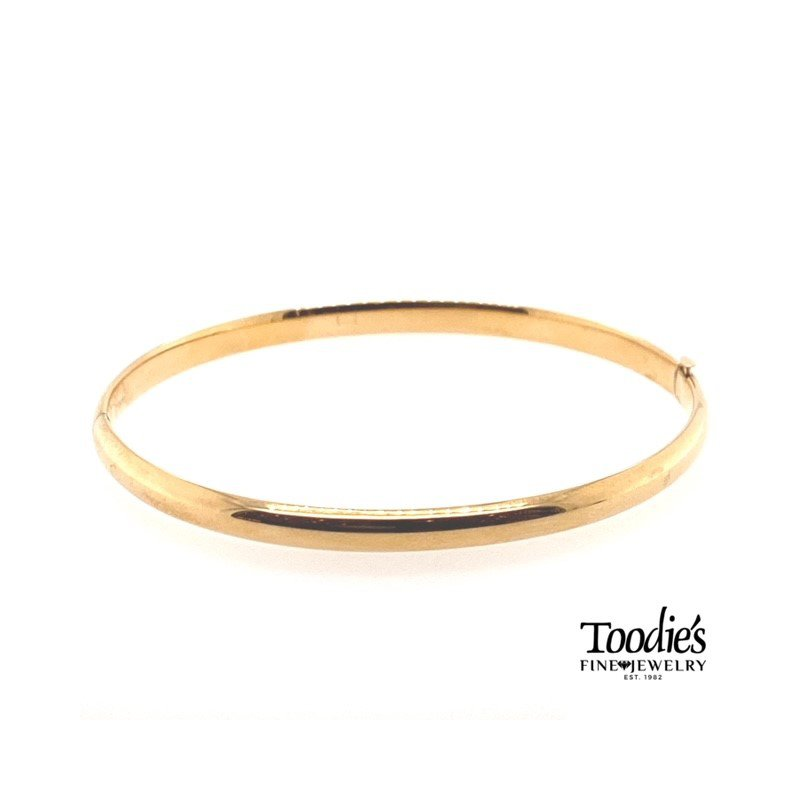 Toodie's Signature Fashion Gold Bangle Bracelet