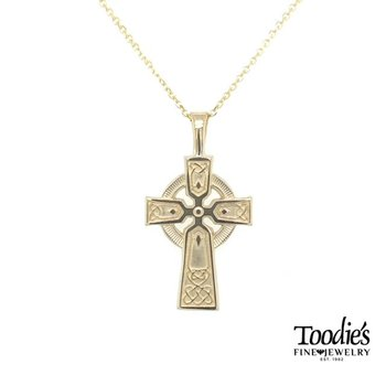 Celtic Style Cross and Chain