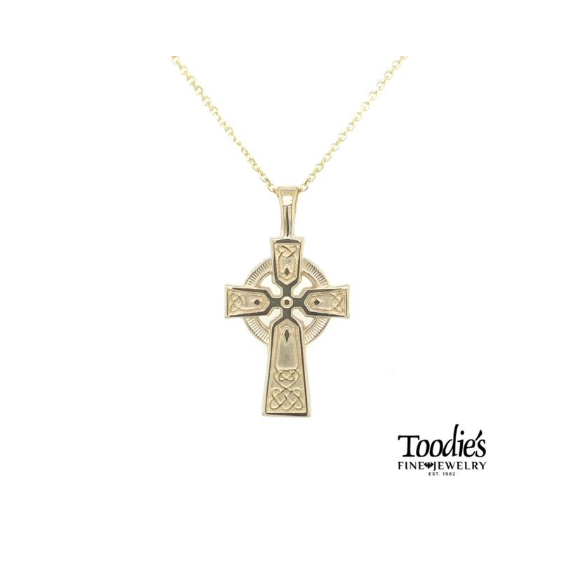 Toodie's Signature Fashion Celtic Style Cross and Chain